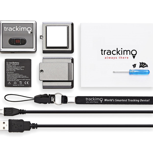 Trackimo GPS Tracker – 1 Year GSM Service